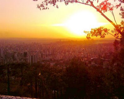Belo Horizonte -Por-do-Sol